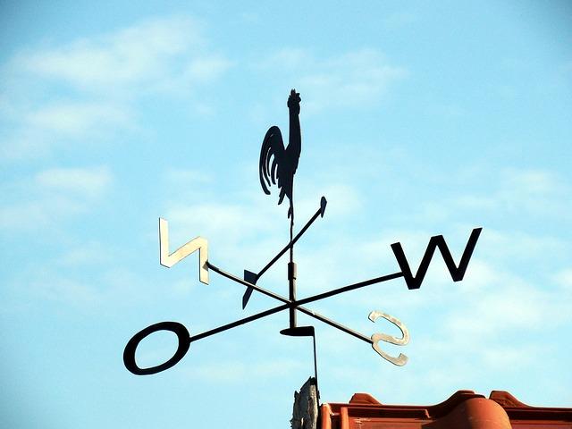 Wetter Wind Wechsel Richtung Klarheit