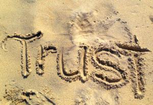 Vertrauen vertrauensvoll