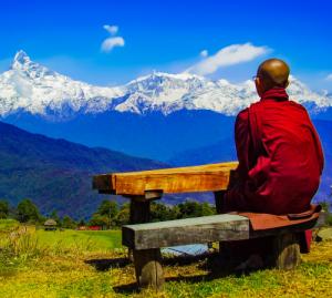 Rückzug innere Reinheit Einklang Verständnis Vorausschau