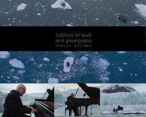 Ludovico Einaudi Elegy for the Arctic offizieller Video live mit Greenpeace am Wahlenbergbreen Gletscher
