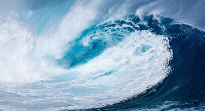 Eine Welle der Veränderungen schnell wuchtig und umverteilend